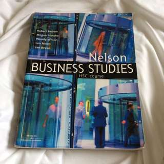 Nelson Business Studies HSC Course