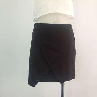 Bardot Black Skirt