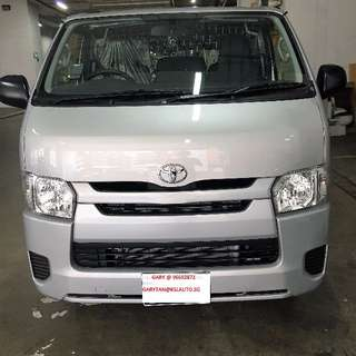 Drive Off A Toyota Hiace At 0% Downpayment Call Now To Believe