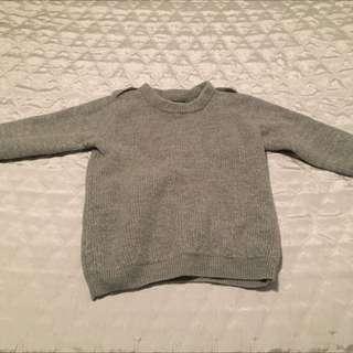XS J.CREW Grey Sweater