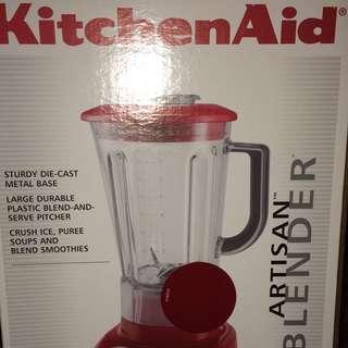 Kitchen Aid Artisan Blender Red