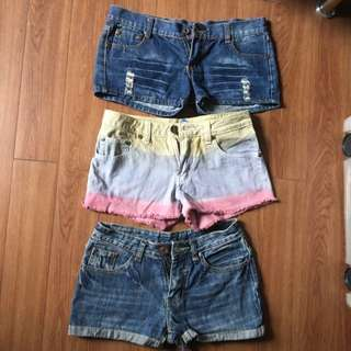 Assorted Mini Shorts Take All