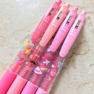 <Last set!> Limited Pink Edition Japan Sarasa Clip 0.4
