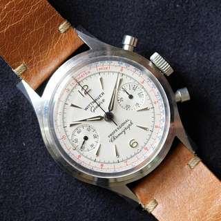Rare Vintage Wittnaeur Chronograph Ref 3256 (Price Reduced)