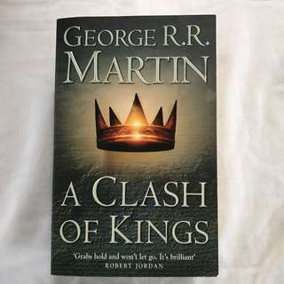 A Clash Of Kings By George R.R Martin