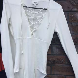 Seed White Body Suit