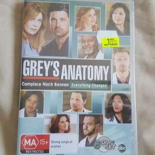 Greys Anatomy Season 9 BRAND NEW