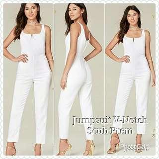 Jumpsuit V-Nocth