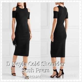 Dress Neyla Cold Shouldee