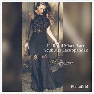 Longdress Royal Mixed Lace