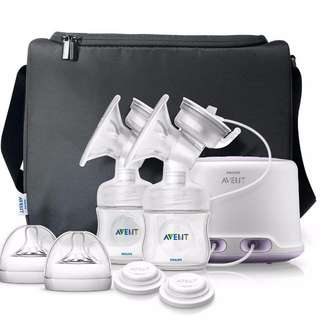 Philips Avent Double Electric Comfort Breast Pump (2015 version)