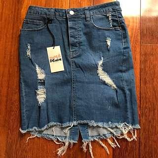 Supre Denim Skirt Size 10