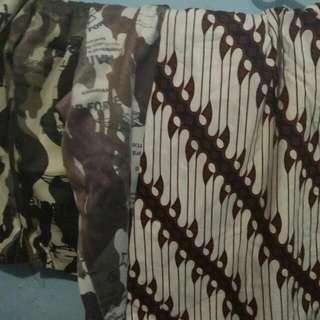 (FREE ONGKIR) Celana Bahan Santai Bigsize