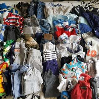 BOYS WINTER CLOTHING 0-6 MONTHS