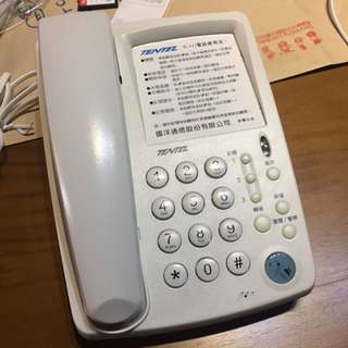 TENTEL K-311電話機