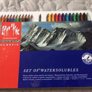 Water-soluble Colour Pencils And Pastels