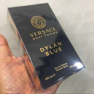Sale Offer Authentic Versace Pour Homme Dylan Blue Perfume 100ml $78 Brand New In Box! Limited Stock First Come First Served! Free Delivery!