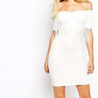 Brand New ASOS Off The Shoulder Dress