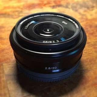 Sony E-mount 20mm F2.8