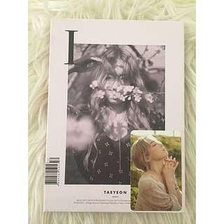 Taeyeon 'I' Album + Photocard