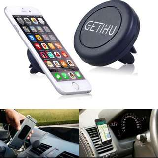 Car Phone Holder Super Convenient Magnetic Air Vent Mount Stand Magnet for All Mobile Phone iPhone 5 5s 6 6s 7 plus GPS Braket