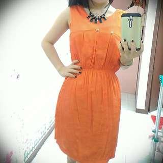 Mini Dress [MissK] Orange