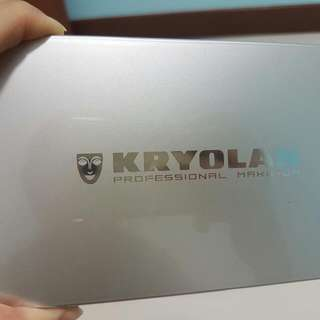 Kryolan Eye Shadow Compact V2 (Bright)