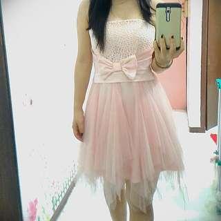 Mini SOFT-PINK Dress