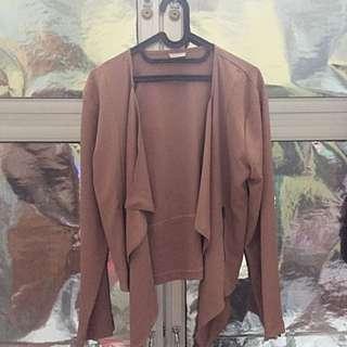 Reprice- Blazer Khaki Just Like New