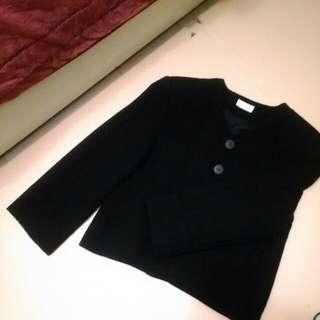 PourDeVrai黑色西裝外套