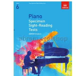 Piano Specimen Sight Reading Test Grade 6