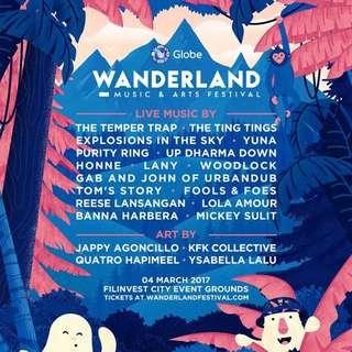 Wanderland Fest Tickets
