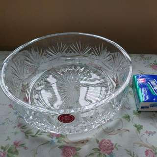 "Royal Albert Crystal 8"" Bowl Made In England"