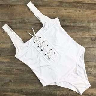 Sexy lace up swimsuit bodysuit 👑