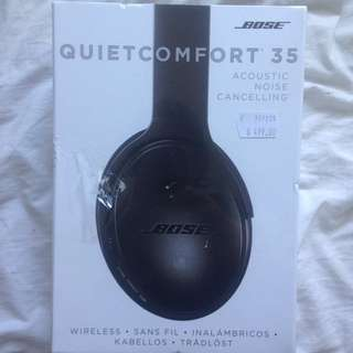 Bose Quiet Control 35 (acoustic Noise Cancelling)