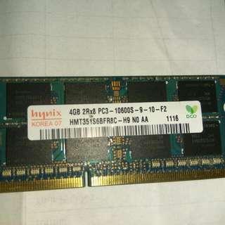 DDR3 HYNIX 4GB RAM