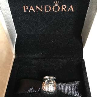 25% off - New AUTHENTIC Pandora Sliver Moneybags Charm 790990