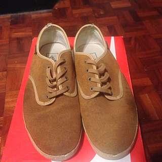 Vans 復古麂皮鞋 US10-11 #五百元好男鞋