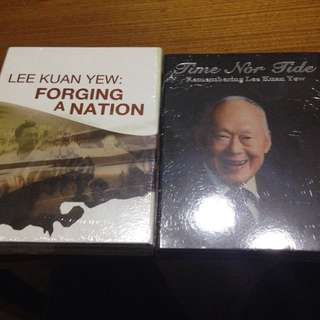 BNIP Lee Kuan Yew two DVDs