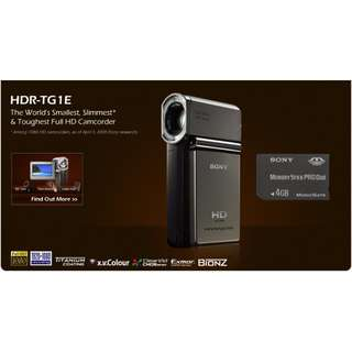 Sony HDR-TG1E Video Camera HD