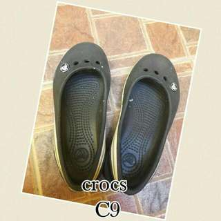 crocs sandals. never worn just kept