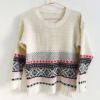 北歐風格針織上衣