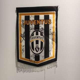 Juventus Signed Banner
