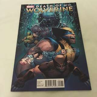 Death Of Wolverine 4 Variant