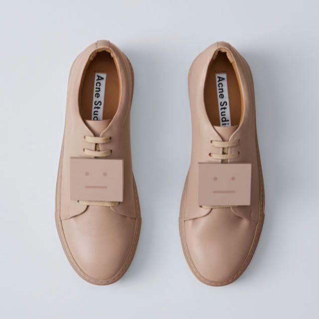 2017 Acne Studios SS 焦糖色球鞋