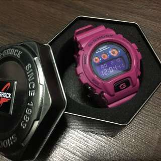 PINK G-SHOCK WATCH