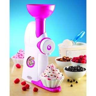 Nostalgia electrics mix n twist ice cream mixer