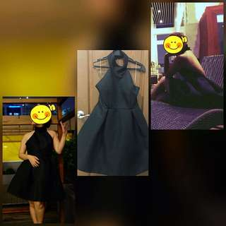 Black Dress - Open Back - People are People