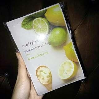 Innisfree Lemon Mask
