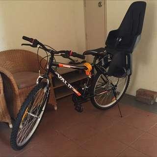 Bobike One Toddler Bike Seat